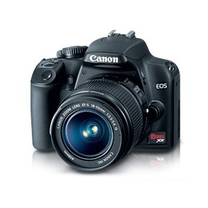 "Canon, Inc 2762B003 Canon EOS Rebel XS 10.1 Megapixel Digital SLR Camera (Body with Lens Kit) - 0.71""-2.17"" - Black"