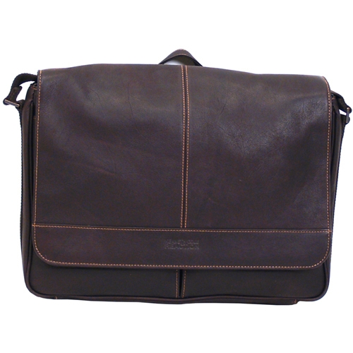 "Kenneth Cole Productions, Inc 524541 Kenneth Cole 15.4"" Colombian Leather Messenger Bag"