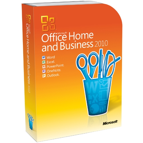 Microsoft Corporation T5D-00417 Microsoft Office 2010 Home and Business - 32/64-bit - Complete Product - 1 PC
