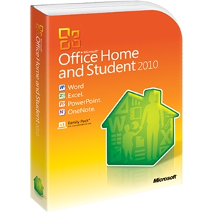 Microsoft Corporation 79G-02144 Microsoft Office 2010 Home & Student - 32/64-bit - Complete Product - 3 User