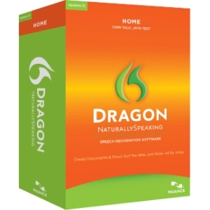 Nuance Communications, Inc K409A-G00-11.0 Nuance Dragon NaturallySpeaking v.11.0 Home With Headset - Complete Product - 1 User