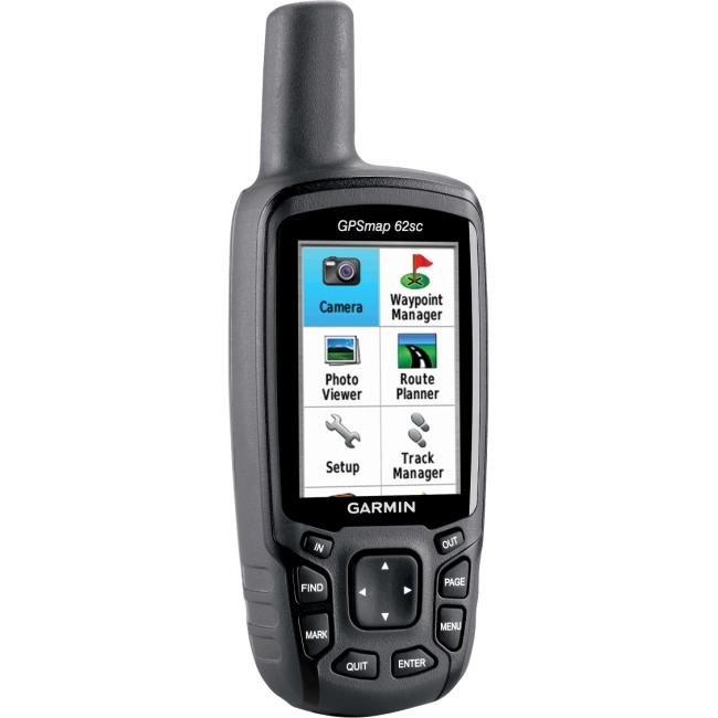 Garmin, Ltd 010-00868-20 Garmin GPSMAP 62sc Handheld GPS Navigator