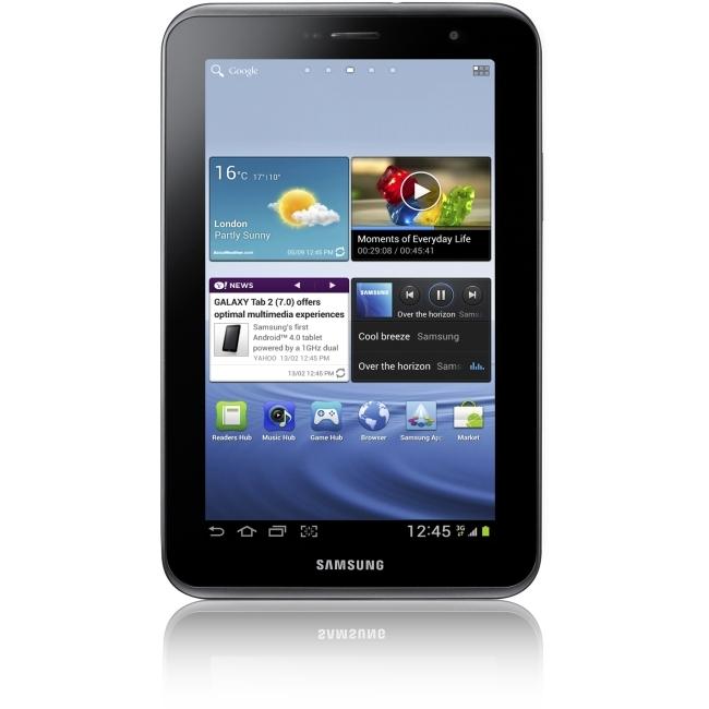 "Samsung GT-P3113TSYXAR Samsung Galaxy Tab 2 7"" 8 GB Tablet Computer - 1 GHz - Titanium Silver"